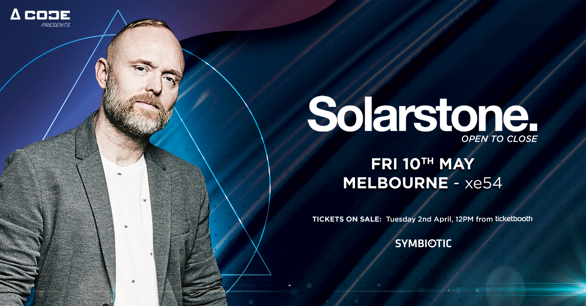 Tickets for Solarstone Open To Close - Melbourne in Melbourne from Ticketbooth