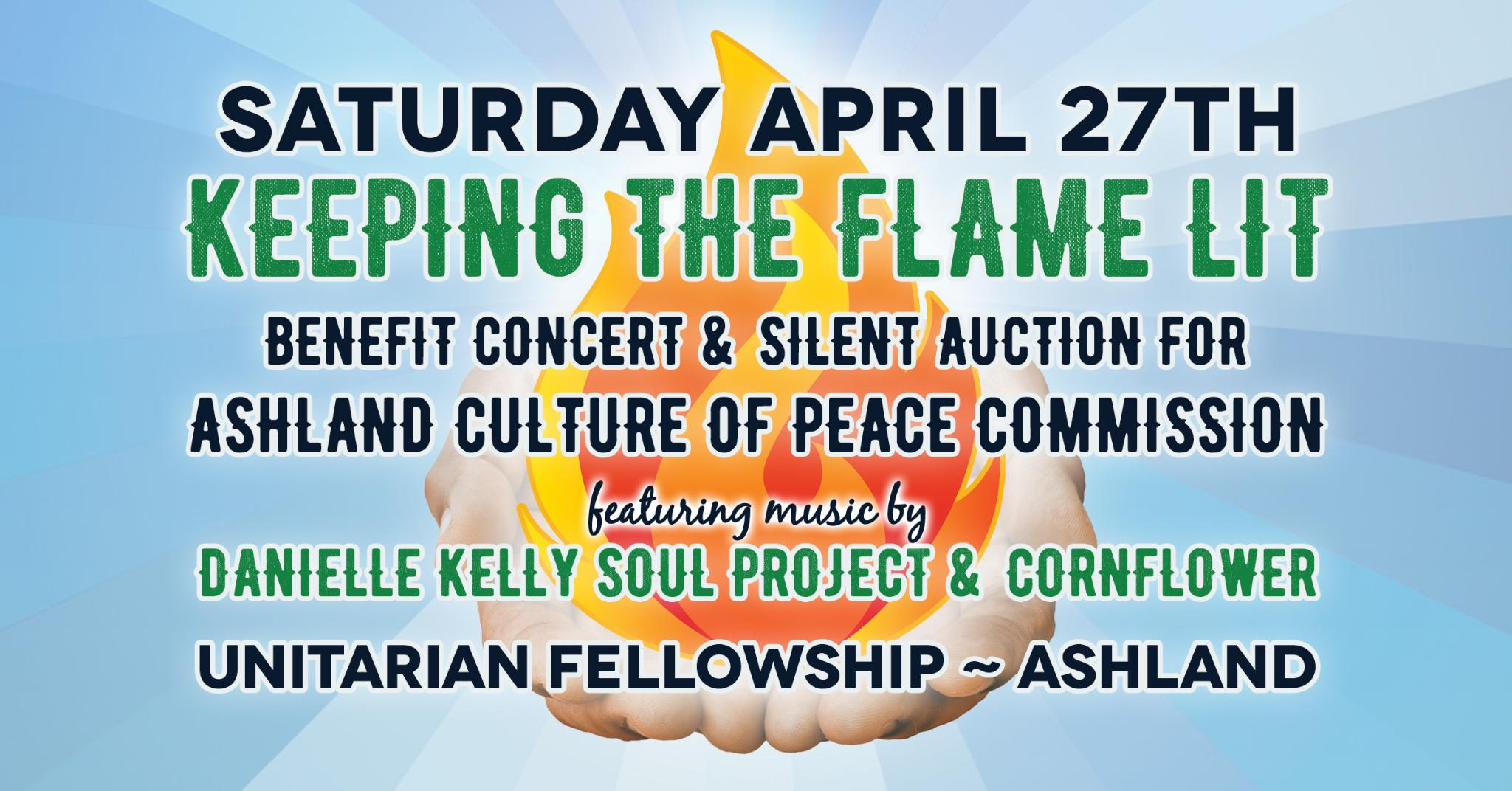 Tickets for Ashland Culture of Peace Commission Concert in Ashland from BrightStar Live Events