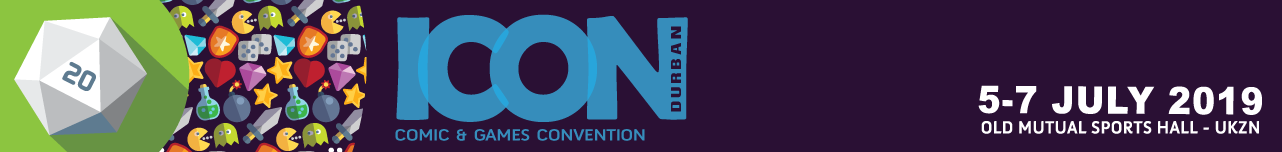 Tickets for ICON DURBAN Comics & Games Convention 2019 in Berea from Tixsa