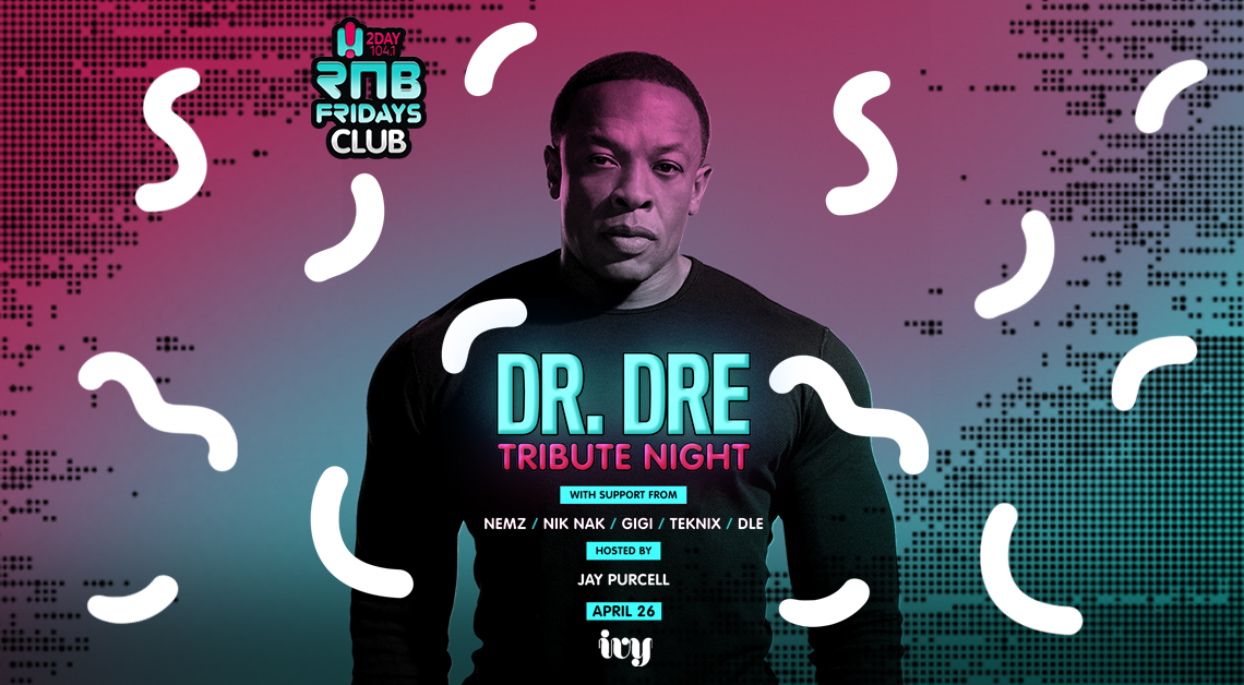 Tickets for RNB Fridays | DR DRE TRIBUTE NIGHT in Sydney from Merivale