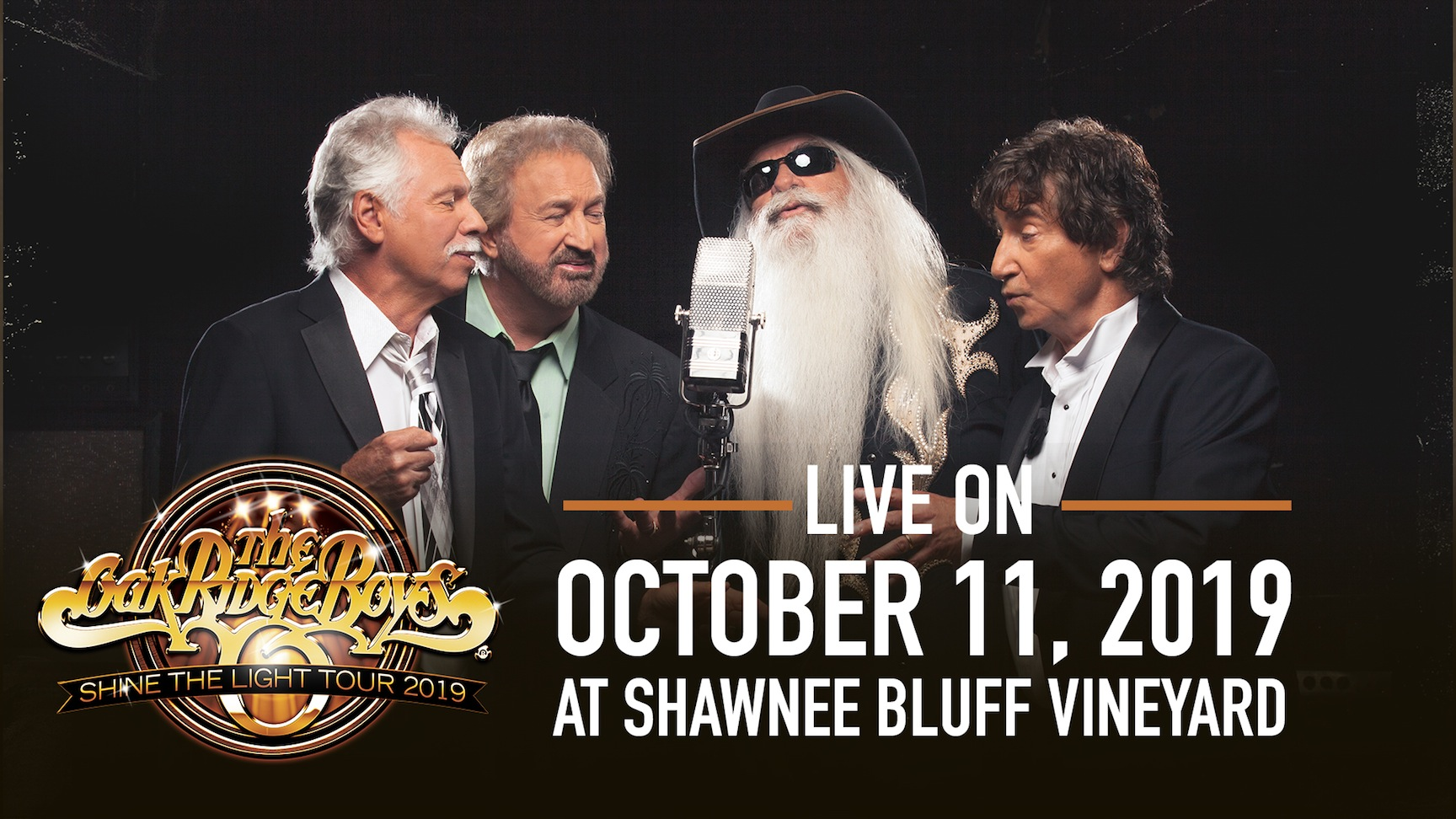 Tickets for The Oak Ridge Boys in Eldon from ShowClix