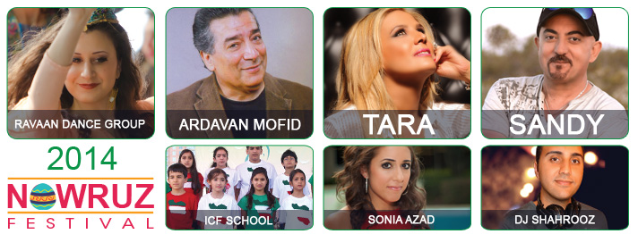 Tickets for 2013 Nowruz Festival in Houston from ShowClix