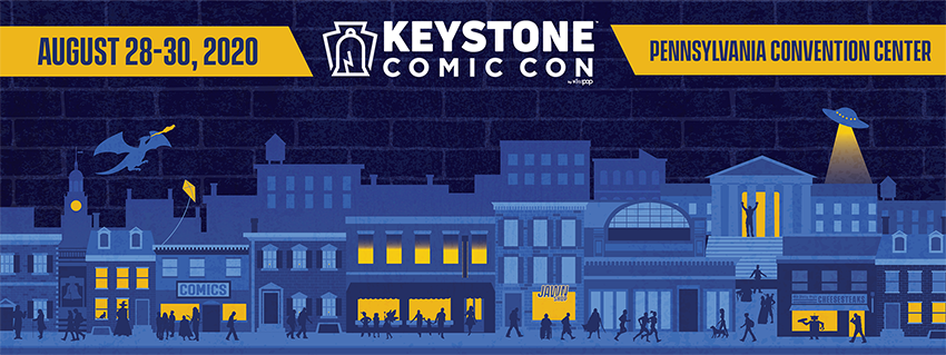 Find tickets from Keystone Comic Con