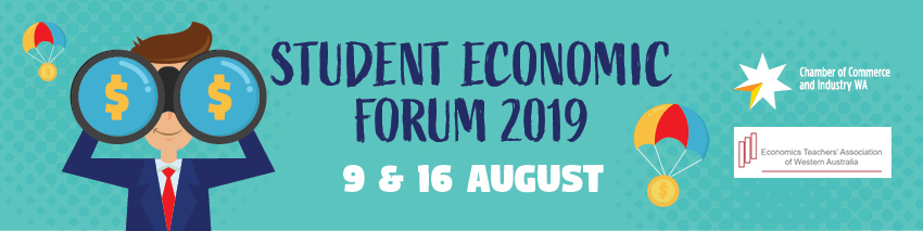 Tickets for Student Economic Forum 2019 in East Perth from Ticketbooth