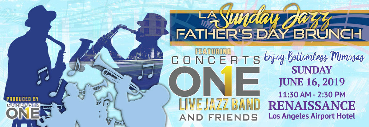 Tickets for LA Sunday Jazz Brunch Father's Day Edition in Los Angeles from ShowClix