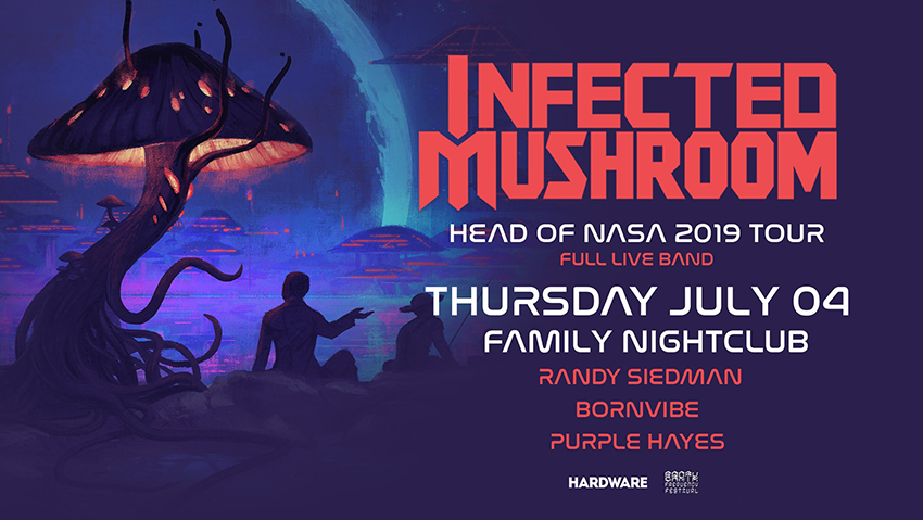 Tickets for Infected Mushroom - Head of Nasa LIVE show in Brisbane from Ticketbooth