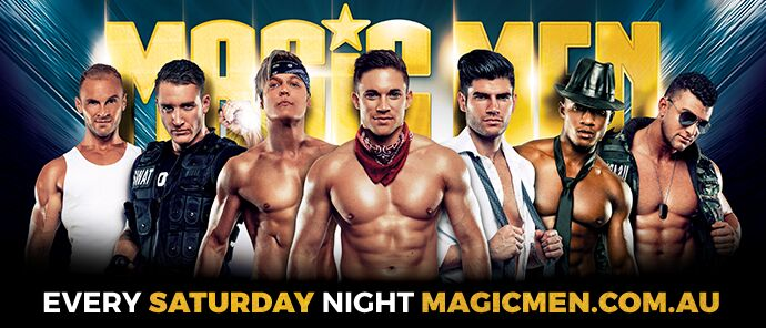 Tickets for Magic men Live Brisbane in Brisbane from Ticketbooth