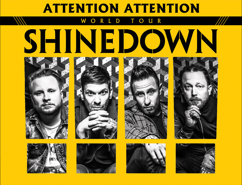 Tickets for Shinedown TICKETLESS VIP at Encana Events Centre in Dawson Creek from Warner Music Group