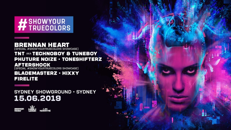 Tickets for HSU & IAH presents SHOW YOUR TRUE COLORS in Sydney Olympic Park from Ticketbooth