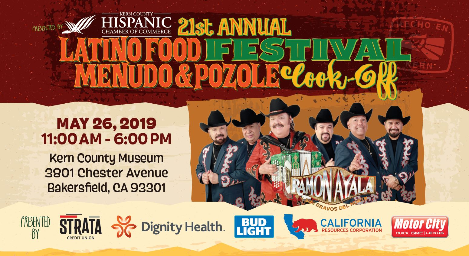 Tickets for Latino Food Festival Menudo & Pozole Cook-Off in Bakersfield from ShowClix