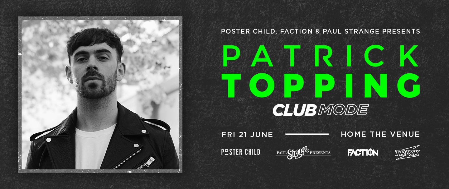 Tickets for Patrick Topping [Clubmode] in Darling Harbour from Ticketbooth