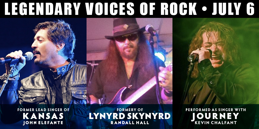 Tickets for Legendary Voices of Rock in Colorado Springs from ShowClix