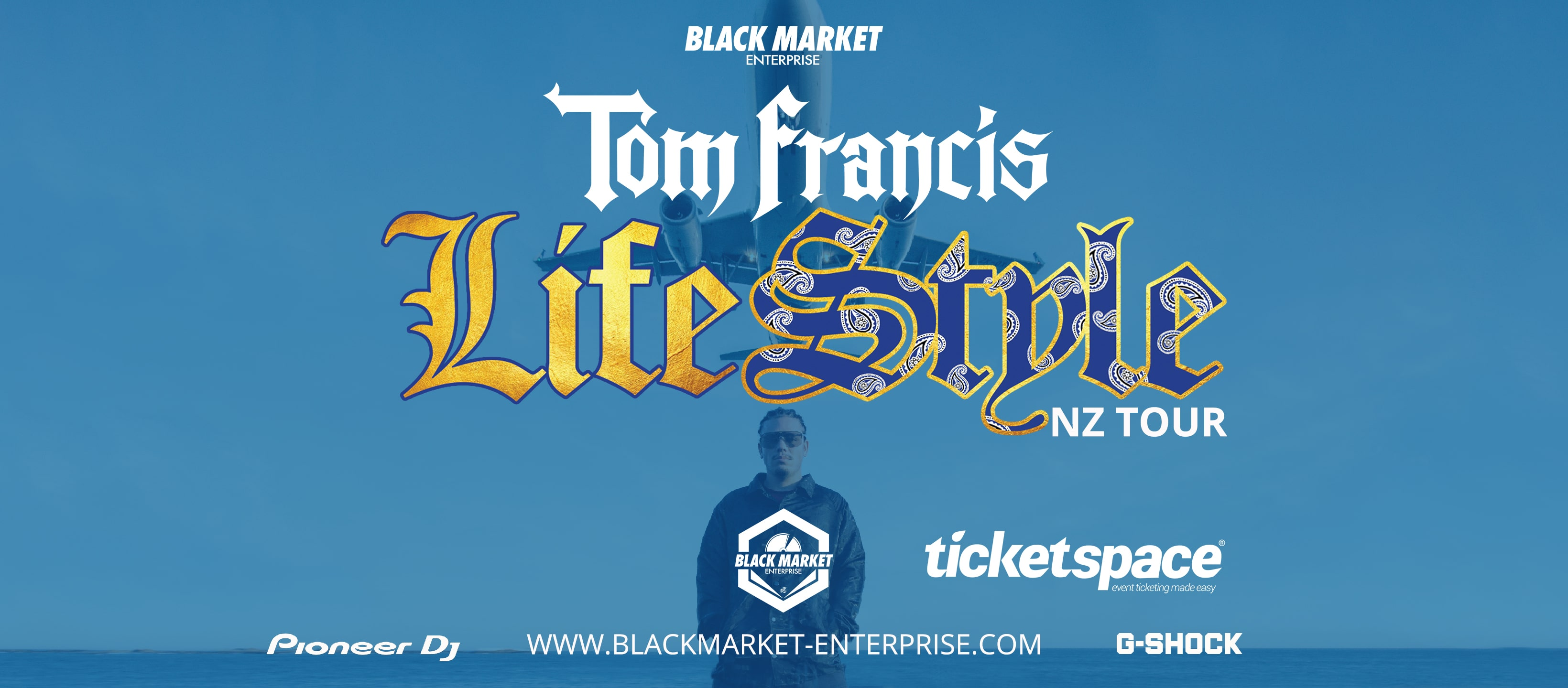 Tickets for TOM FRANCIS - LIFESTYLE TOUR NZ - DUNEDIN in Dunedin from Ticketspace