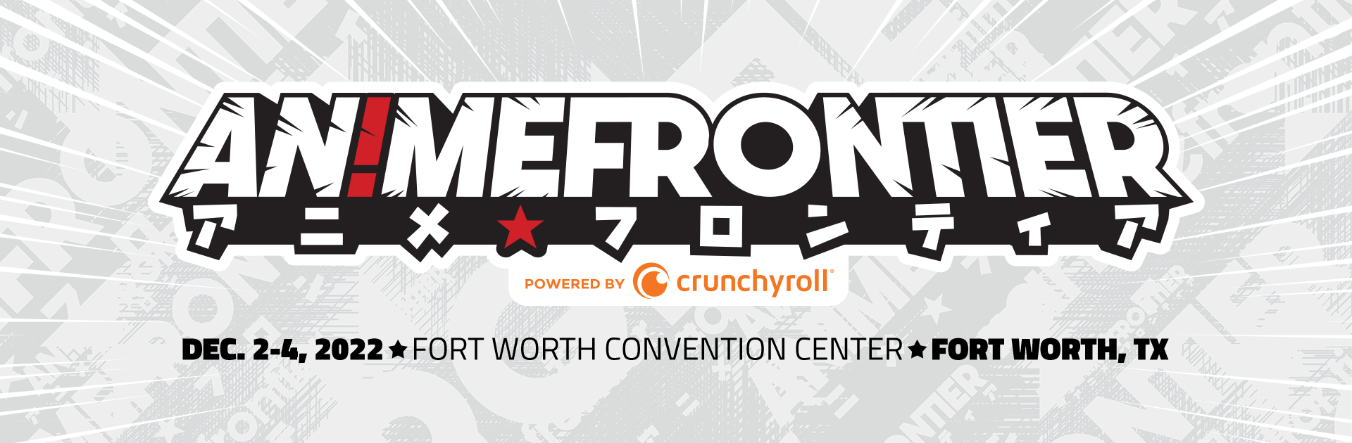 Tickets for Anime Frontier 2020 Powered By Crunchyroll in Fort Worth from ShowClix
