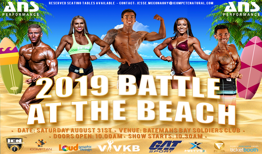 Tickets for 2019 ICN Battle @ the Beach in Batemans Bay from Ticketbooth