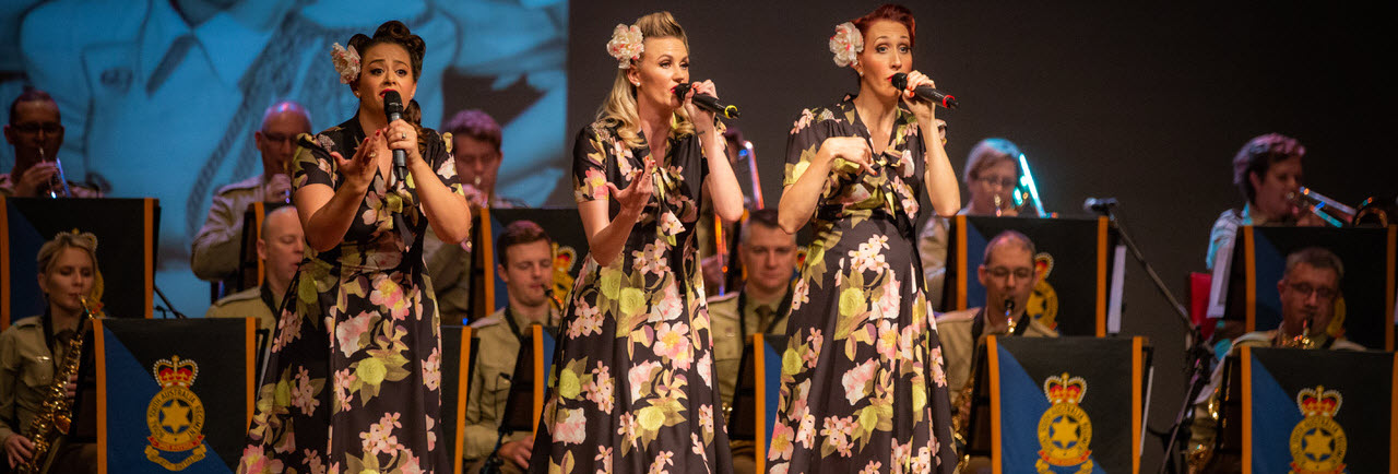 Tickets for An Andrews Sisters Tribute in Murray Bridge from Ticketbooth