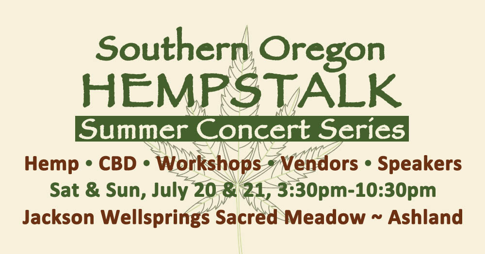 Tickets for Southern Oregon Hempstalk in Ashland from BrightStar Live Events