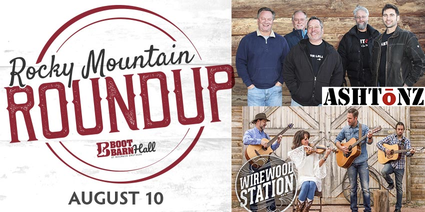 Tickets for ROCKY MOUNTAIN ROUNDUP:Ashtōnz & WireWood Station in Colorado Springs from ShowClix