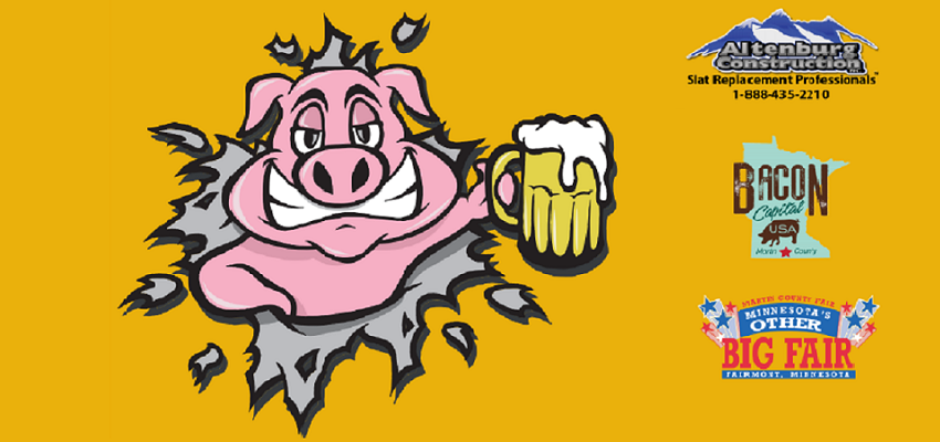 Tickets for Beer and Bacon Fest at the Martin County Fair in Fairmont from BeerFests.com
