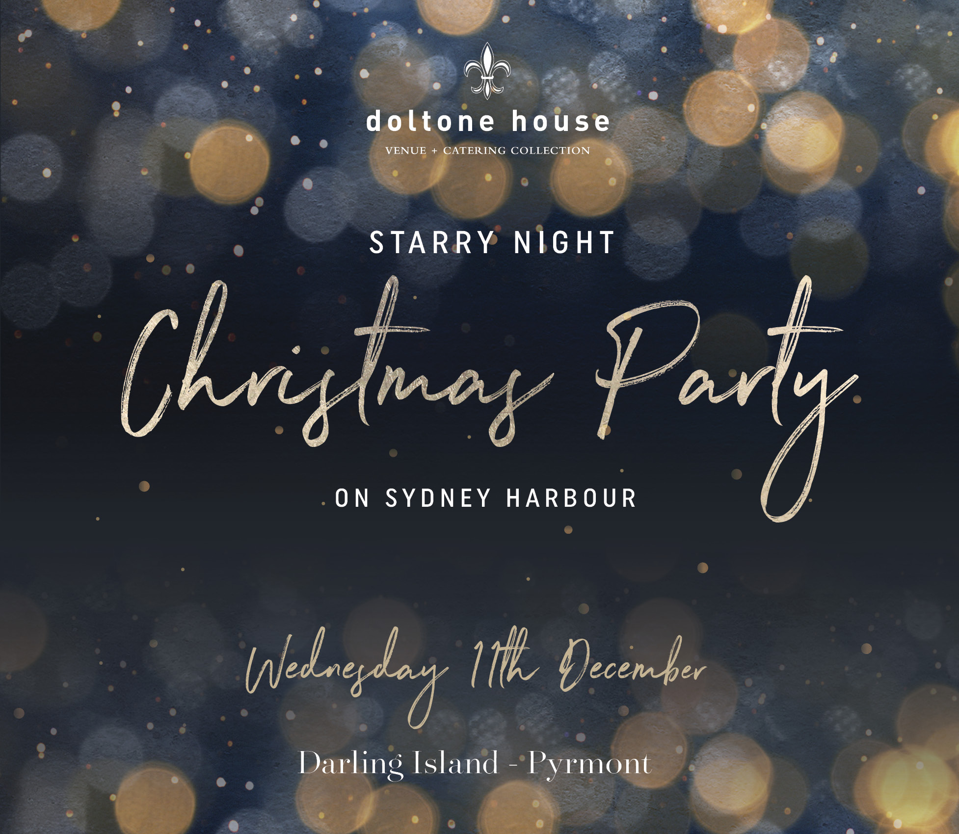 Tickets for Christmas Party 2019 at Doltone House in Pyrmont from Ticketbooth