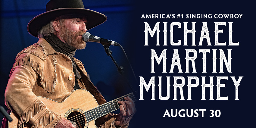 Tickets for Michael Martin Murphey in Colorado Springs from ShowClix