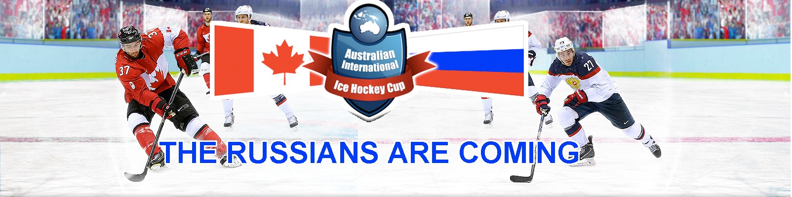 Tickets for International Ice Hockey: Canada vs Russia - 23 July in Erina from Ticketbooth