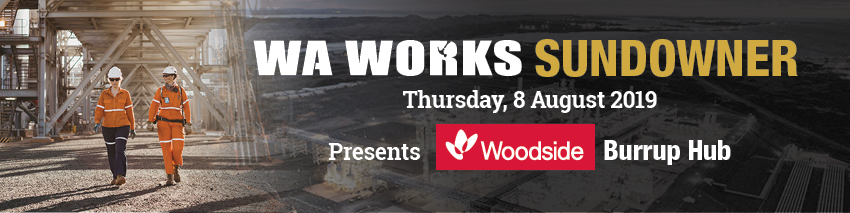 Tickets for WA Works Sundowner - Woodside Burrup Hub in East Perth from Ticketbooth