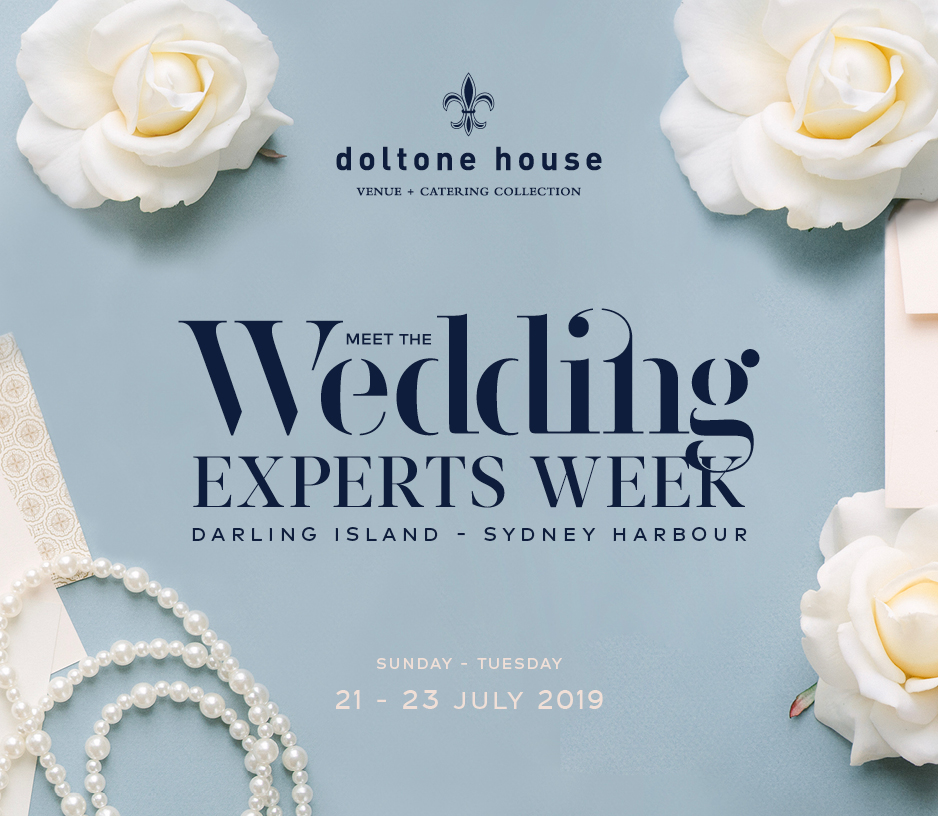 Tickets for Meet the Wedding Experts Week - July 2019 in Pyrmont from Ticketbooth