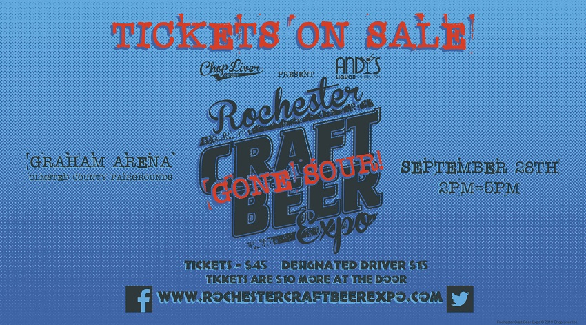 Tickets for Rochester Craft Beer Expo - Gone Sour! in Rochester from BeerFests.com