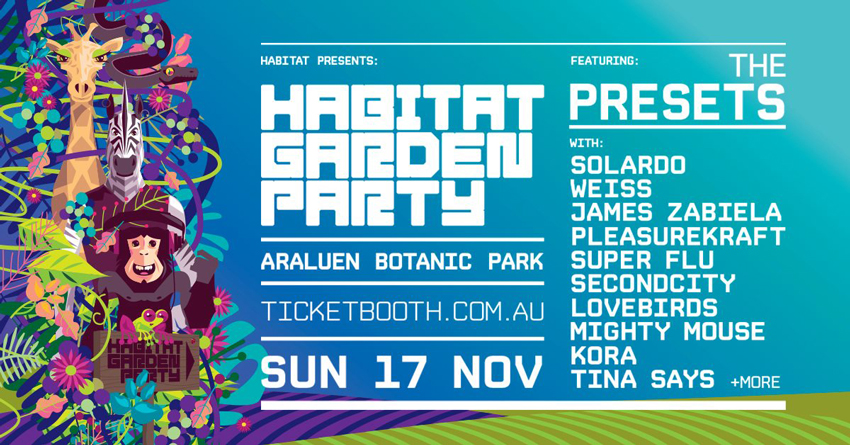 Tickets for Habitat Garden Party // Start Of Summer 2019 in Roleystone from Ticketbooth