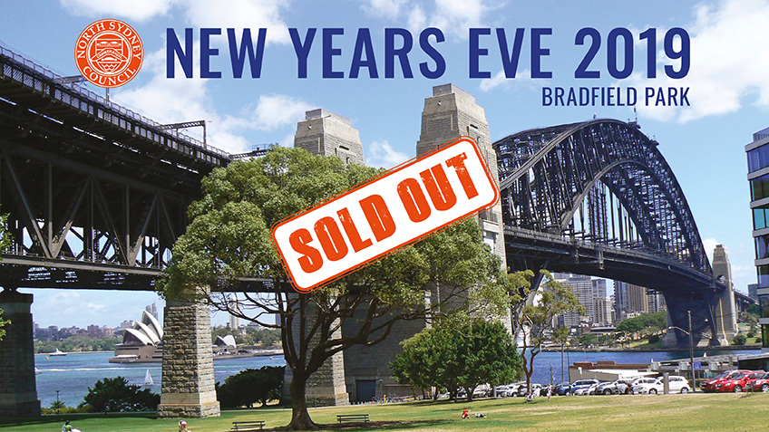 Tickets for New Years Eve at Bradfield Park - SOLD OUT in Milsons Point from Ticketbooth