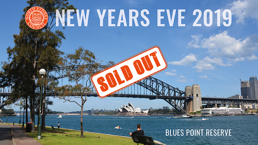Tickets for New Years Eve at Blues Point Reserve – SOLD OUT in North Sydney from Ticketbooth