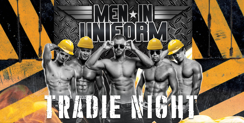 Tickets for Men In Uniform – Tradie Night in Bluff Point  from Ticketbooth