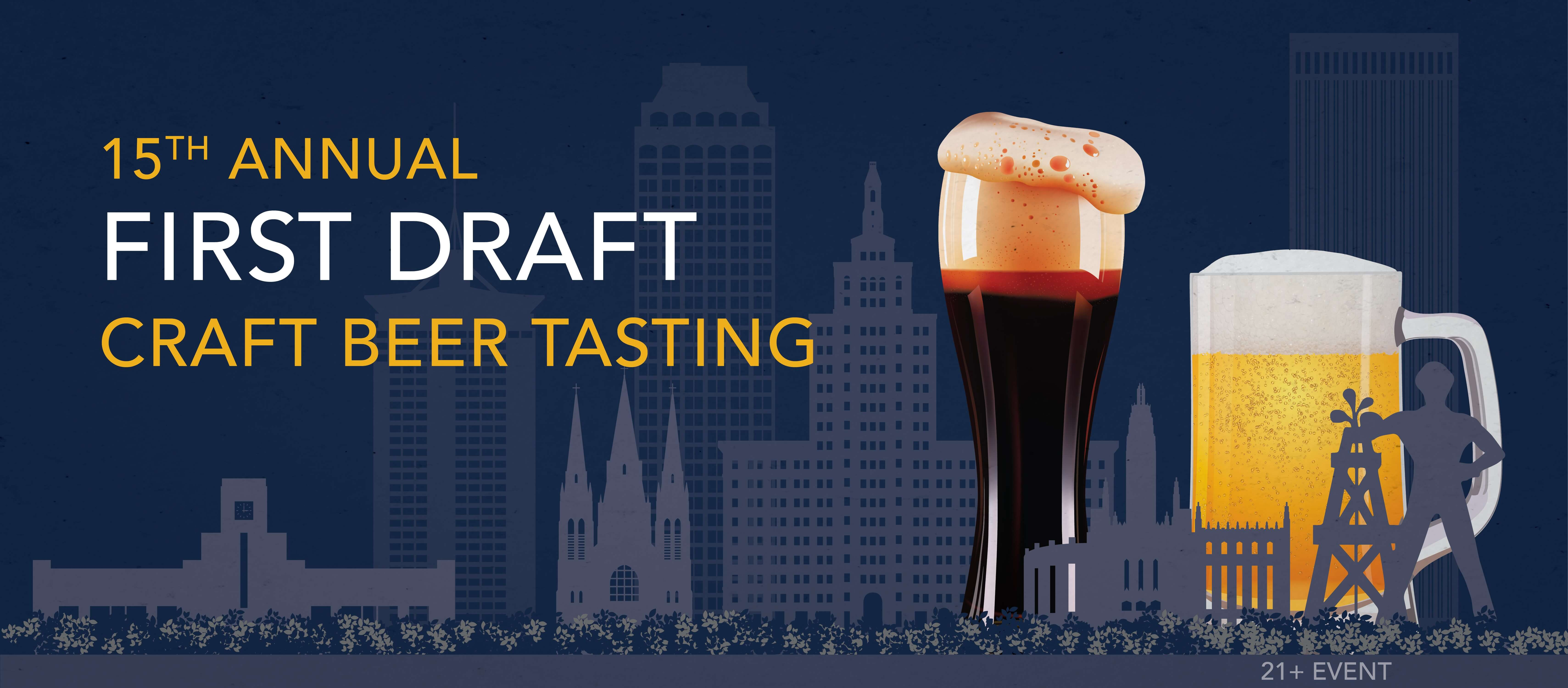 Tickets for First Draft Craft Beer Tasting 15 in Tulsa from BeerFests.com