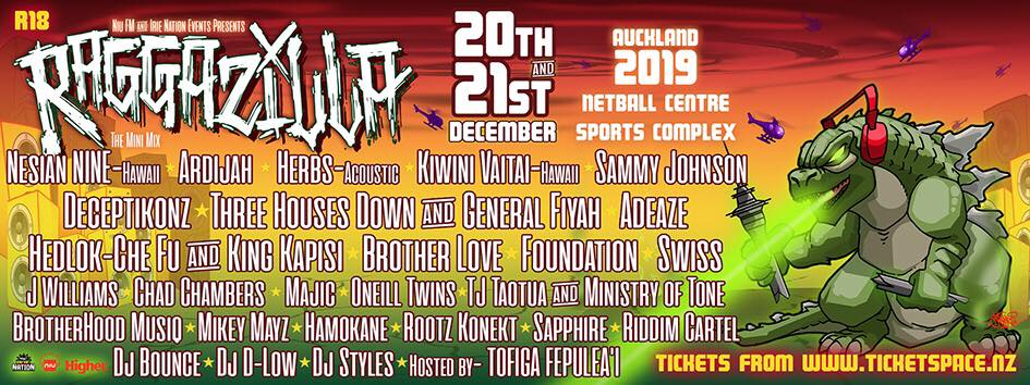 Tickets for RAGGAZILLA - Auckland in Auckland from Ticketspace