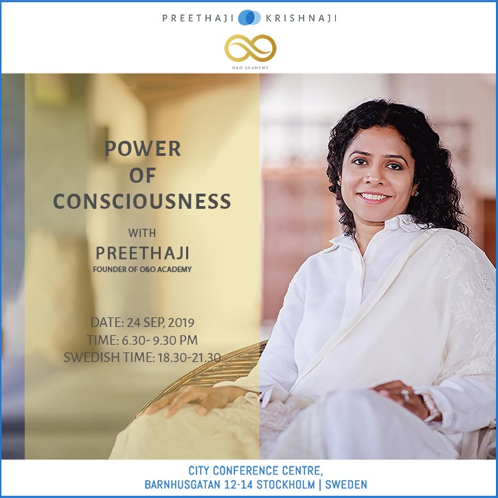 Tickets for Power of Consciousness in Stockholm from BrightStar Live Events