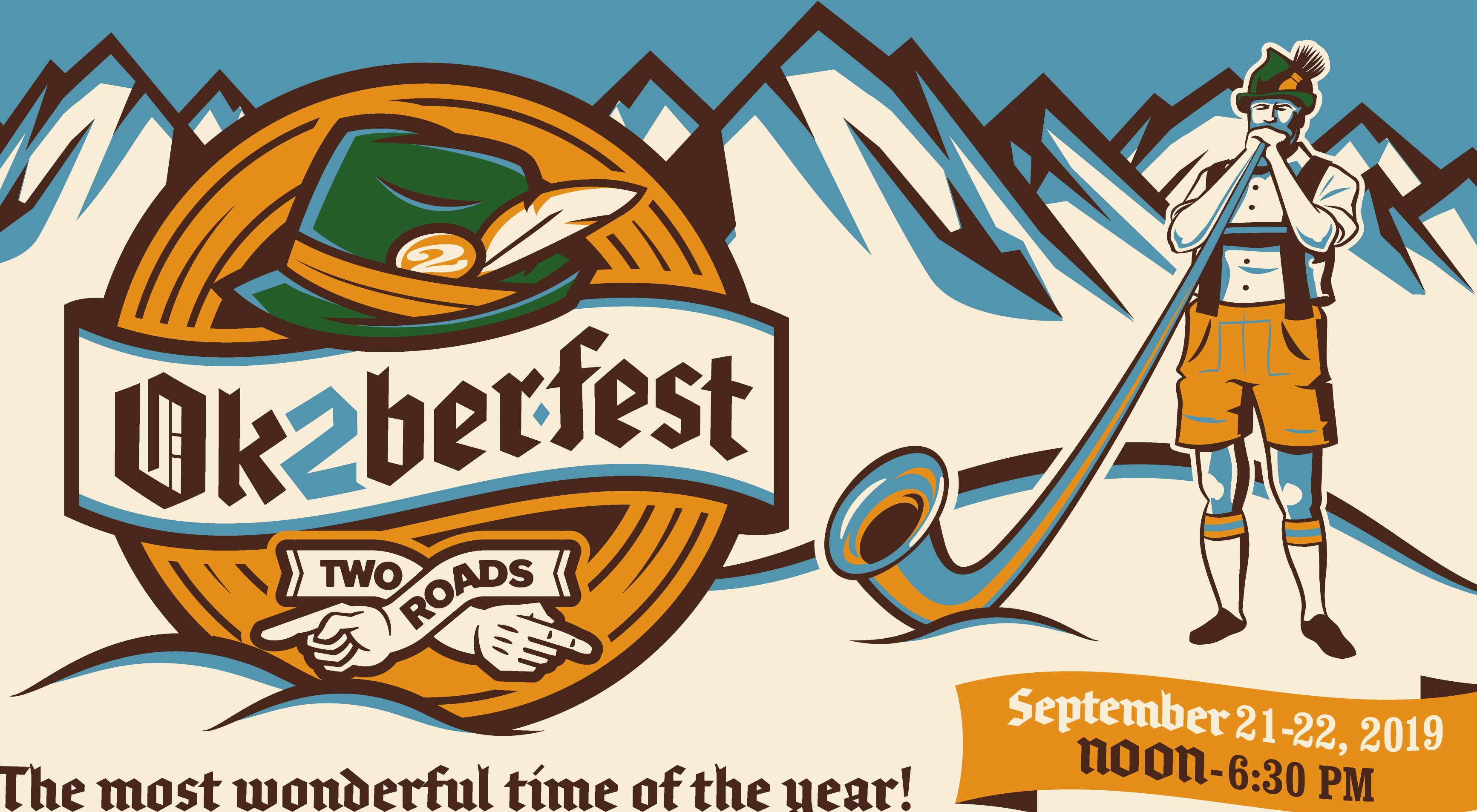 Tickets for Two Roads Ok2berfest 2019 in Stratford from BeerFests.com