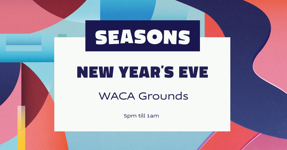 Tickets for Seasons NYE: WACA Grounds in East Perth from Ticketbooth