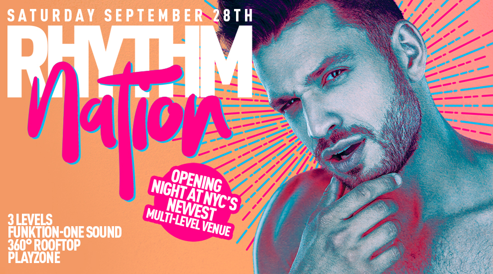 Tickets for Rhythm Nation | Opening Night | DJs Danny Verde + Mdmatias in New York from ShowClix