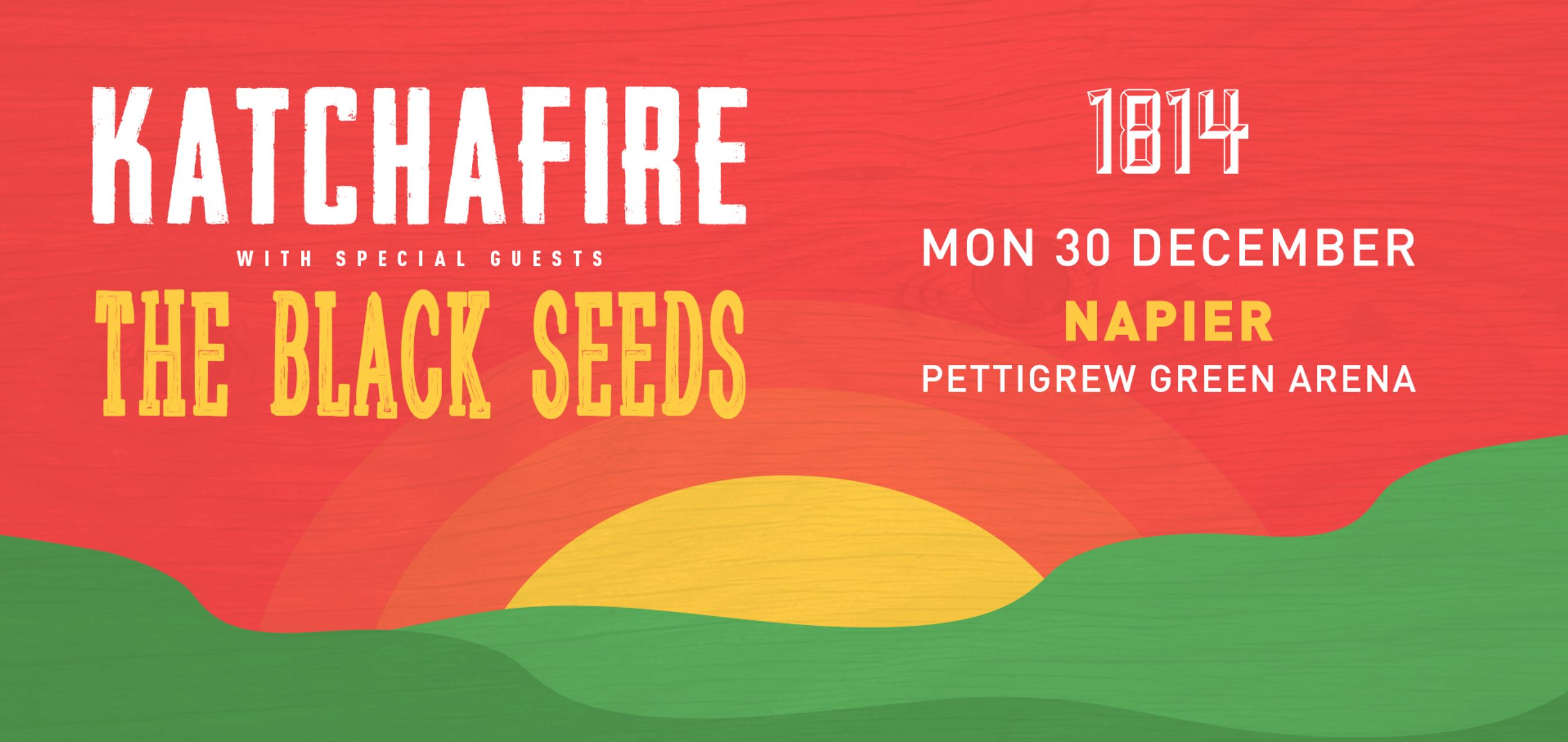 Tickets for Katchafire & The Black Seeds - Napier in Napier from Ticketspace