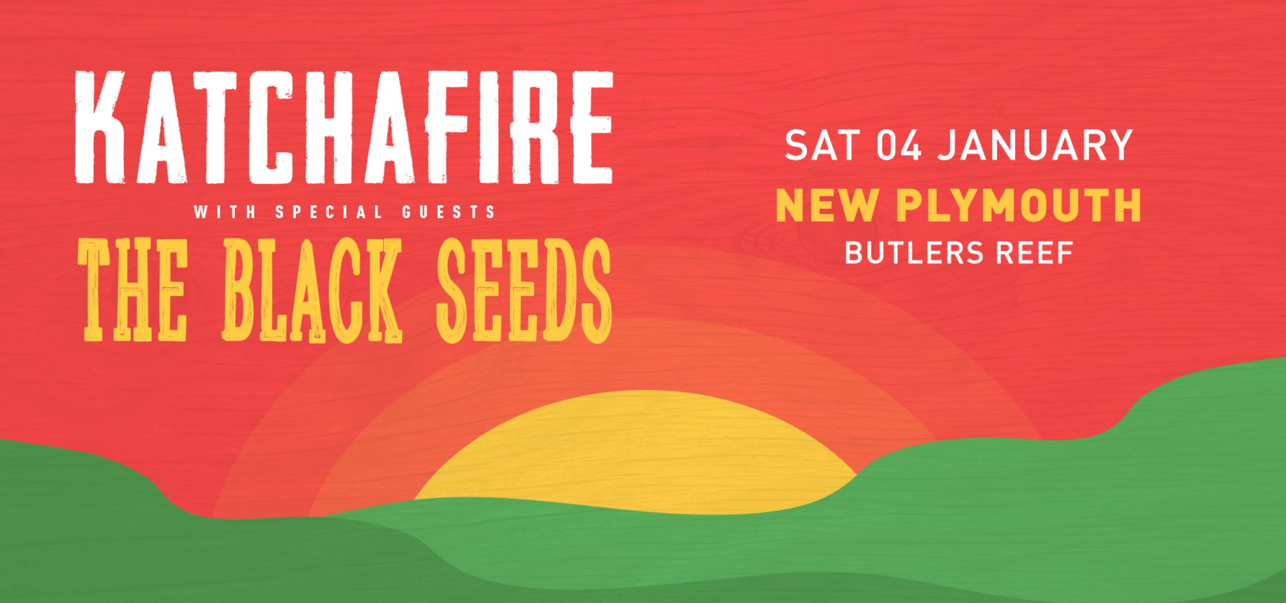 Tickets for Katchafire & The Black Seeds - New Plymouth in Oakura from Ticketspace