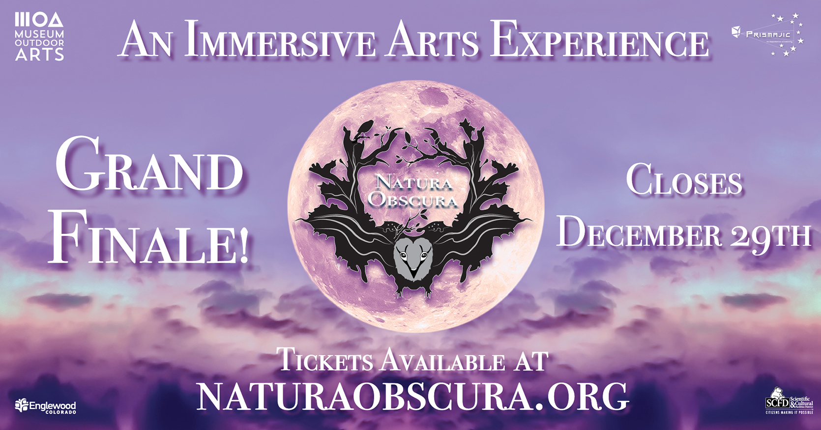 Tickets for Natura Obscura VIP Magic Ticket in Englewood from ShowClix