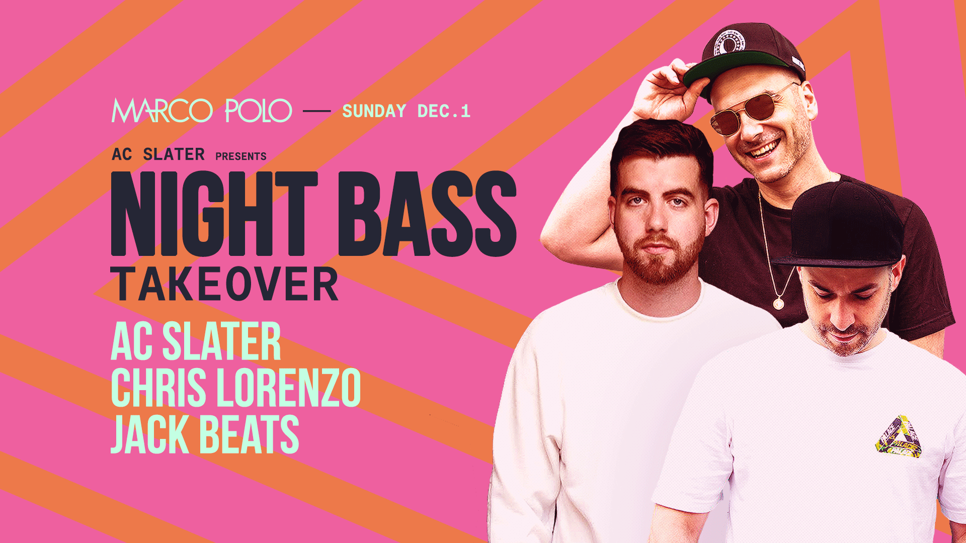 Tickets for Marco Polo | Night Bass Takeover in Sydney from Merivale