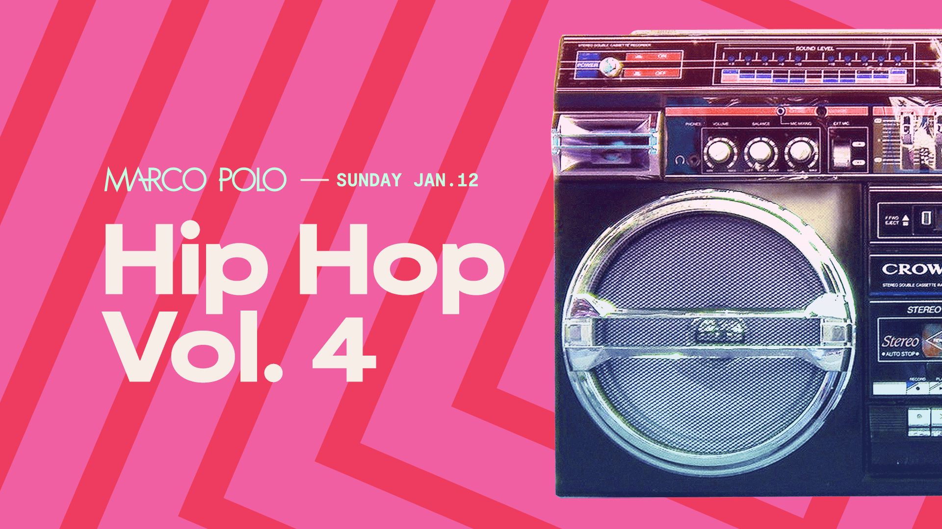 Tickets for Marco Polo | Hip Hop Vol. 4 in Sydney from Merivale