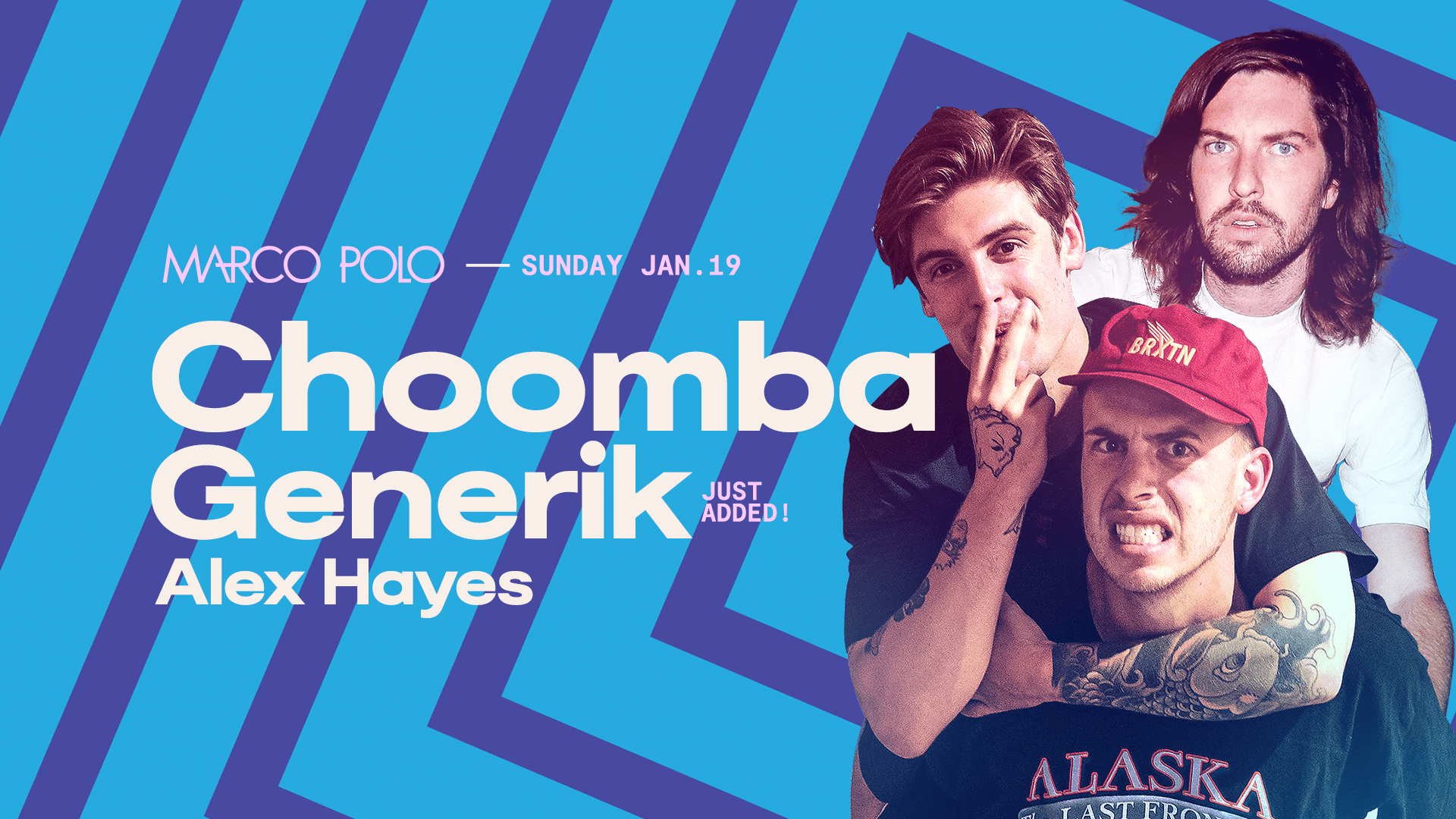 Tickets for Marco Polo ft. Choomba & Generik in Sydney from Merivale