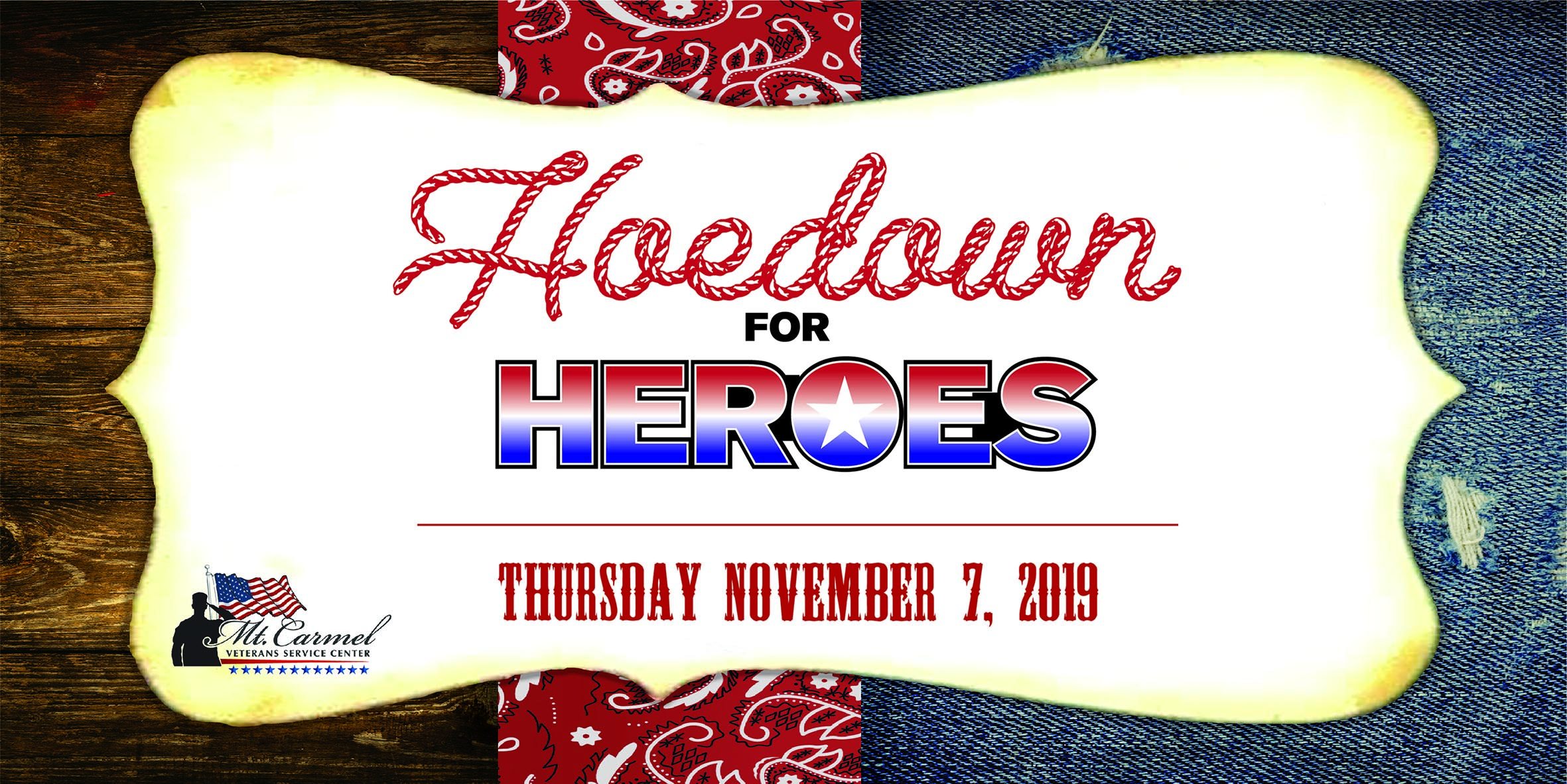 Tickets for Hoedown for Heroes in Colorado Springs from ShowClix