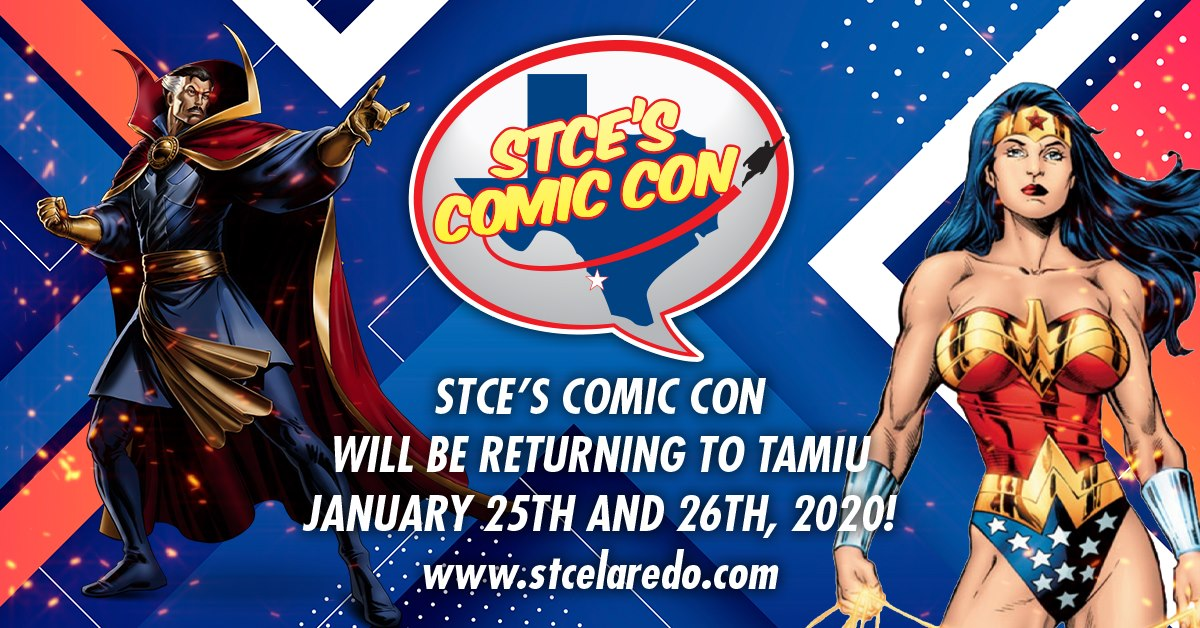 Tickets for STCE's Comic Con 2020 Artist and Vendor Booths in Laredo from ShowClix