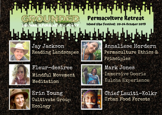 Tickets for Grounded Permaculture Retreat 2019 in Point Lookout from Ticketbooth