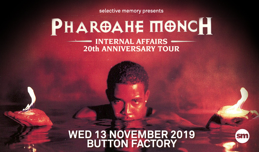 Tickets for CANCELLED: Pharoahe Monch in Dublin from Ticketbooth Europe