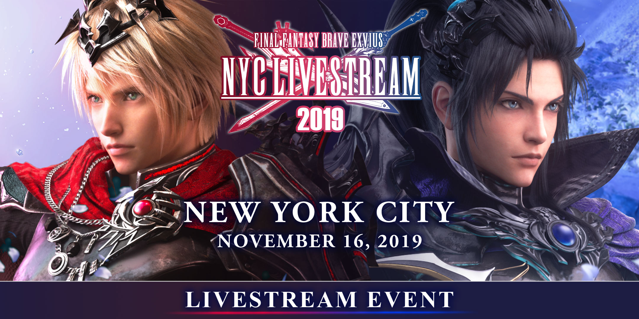 Tickets for FFBE NYC LIVESTREAM EVENT 2019 in New York from ShowClix